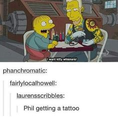 Is it weird that I heard Phil's voice saying that?