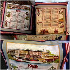 Calendar cushion 1989