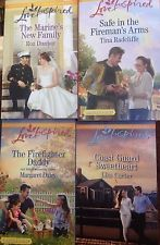 Harlequin Romance Love Inspired Heartwarming 4 pack new set 1143