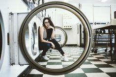 Model: Keri Ann Walker   Shot By Alex T  Laundry Mat Shoot Photoshoot Photo shoot Laundromat  Laundromat photography Laundromat photo shoot