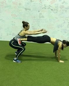 """22.5k Likes, 1,690 Comments - Alexia Clark (@alexia_clark) on Instagram: """"Grab your friends! @nikkimetzger @getfitwithgiddy and I bring you the ultimate buddy workout! 60…"""""""