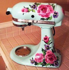 Custom Kitchen-aid mixer.