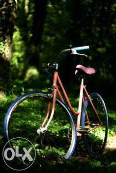 Cute pink single speed bicycle śliczny różowy rower single speed