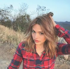 Aimee Teegarden went for a morning walk.