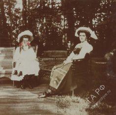 """otmacamera: """" Olga Nikolaevna, Astrid of Sweden & Maria Pavlovna in Stockholm, 1909 """""""