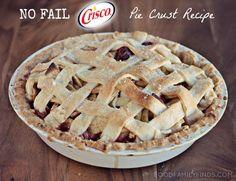 no fail @Christine Recipes pie crust recipe