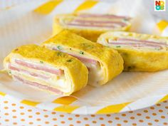 Ham and Cheese Egg Roll Recipe | Rolled Omelette | Tamagoyaki