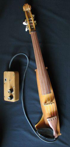 INSTRUMUNDO Instrumentos Musicales: Violín Electroacústico