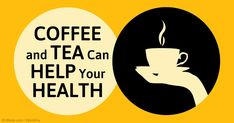 Drinking coffee in moderation and tea help reduced risk of chronic diseases and might lengthen your life. http://articles.mercola.com/sites/articles/archive/2015/05/25/coffee-tea-health-benefits.aspx