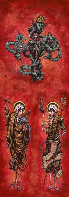 The Beast and Two Witnesses Oops Print
