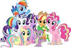 When I first saw the Mane 6 turn into their Rainbow Powered forms, I had high hopes they would maintain it for the rest of the episode.Unfortunately, they didn't... With that in m...
