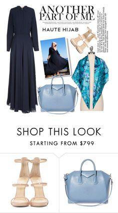 """Haute Hijab 5/1"" by merima-kopic ❤ liked on Polyvore featuring Giuseppe Zanotti, Givenchy and hautehijab"