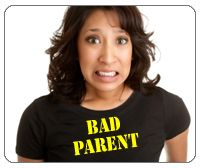 "Am I a Bad Parent? How to Let Go of Parenting Guilt "" Questions about who's to blame don't really matter when parents are working to become more effective. The real question is, what can you do differently to help your child change his behavior? After all, it's not about whose fault it is—it's about who is willing to take responsibility."""