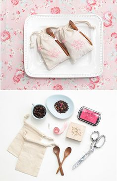 DIY Coffee Bean or Tea Wedding Favors | 24 DIY Wedding Favor Ideas