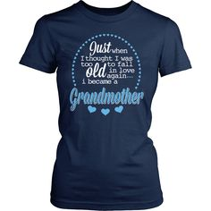 Grandparent Shirt - Just When I Thought