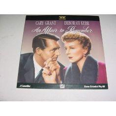 Laserdisc An Affair to Remember With Cary Grant, Deborah Kerr, Richard Denning, Neva Patterson and Cathleen Nesbitt. Special Widescreen Edition. --- http://www.pinterest.com.itshot.me/1k