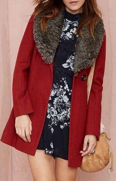 Florence Faux Fur Coat