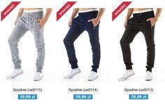W naszym sklepie pojawiły się nowe modele spodni dresowych. http://dstreet.pl/pol_m_ODZIEZ-MESKA_SPODNIE-208.html  Która wersja kolorystyczna ? Szara, granatowa czy czarna ?  #spodnie #dresy #dstreet