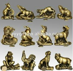 zodiac animal sculpture - Google Search