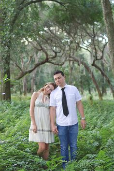 Green Bridal Inspiration/Engagement Session