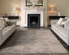 Katherine Carnaby - Chrome Taupe Rugs | Modern Rugs