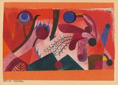 Paul Klee - Poisonous Berries - 1920