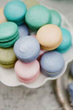 Macarons that are almost too pretty to eat