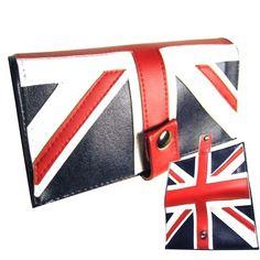 British ) Pocketbook Slash Checkbook Wallet via Etsy.
