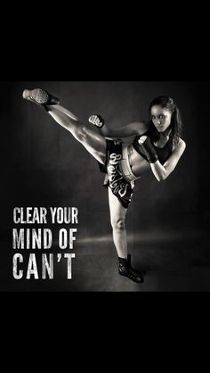 Positive thought - TaeKwonDo....My first class is Thursday!!