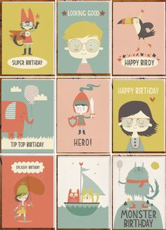 greeting cards by paper & cloths