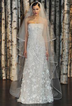 Naeem Khan Wedding Dresses 2015. To see more: http://www.modwedding.com/2014/08/20/naeem-khan-wedding-dresses-2015/ #wedding #weddings #wedding_dress