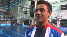 """European Champion Tom Daley talks exclusively to BBC Sport's Nick Hope  about how proud he is to be selected for the Team GB Olympic squad.  The 18-year-old double Commonwealth gold medallist plans to learn from his experiences in Beijing 2008 Olympics and avoid being """"overwhelmed"""" by the intense media attention.  Daley adds that although the competition will be strong at the London Games, winning an Olympic gold medal is still his dream."""
