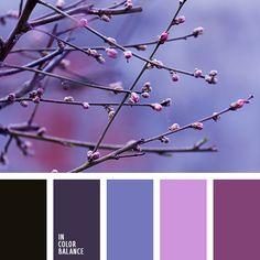 Цветовая палитра №3018 | IN COLOR BALANCE