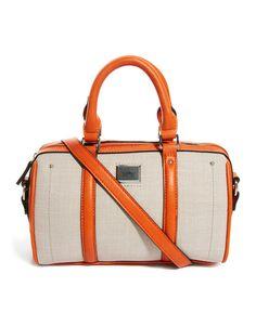 Fiorelli Hope Canvas Bowler Bag