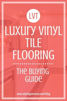 Thanks to improved technology and advanced manufacturing, luxury vinyl tiles provide increased durability, a wider variety of aesthetics, easier installation and a generally better feel. In this article, we dive deep into luxury vinyl tile, looking at what exactly it is made of and how it differs from traditional vinyl. We also discuss the many applications of LVT, its many benefits and the few drawbacks you should be aware of.