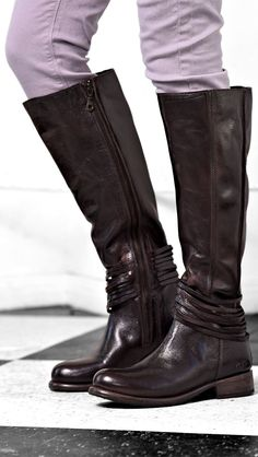 ca3ec3a2b63 Dark brown BEDSTU boot, is the newest addition to your fall wardrobe. Tall  Leather