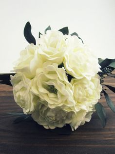 Bridal Bouquet-Peony Bouquet-White Bouquet | Botanical Box