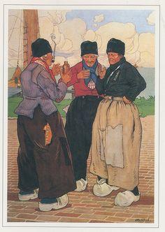 Volendam Vissers - fishermen    Henri Cassiers