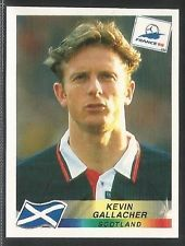 Panini 1998 World Cup 98 sticker #047 - SCOTLAND - Kevin Gallacher - BLACKBURN Football Stickers, Football Cards, Baseball Cards, 1998 World Cup, Fifa World Cup, Dundee United, Mullets, Brave, Albums