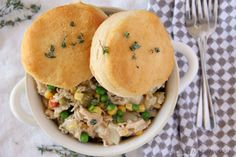 Warm and delicious, this Slow Cooker Chicken Pot Pie is hands down the easiest chicken pot pie you'll ever make.
