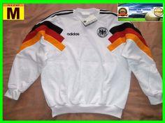 RARE 1990 1992 GERMANY shirt jersey jacket  camiseta M MEDIUM adidas NEW #adidas #Germany
