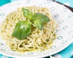 One pot pasta minceur au pesto et au parmesan léger : http://www.fourchette-et-bikini.fr/recettes/recettes-minceur/one-pot-pasta-minceur-au-pesto-et-au-parmesan-leger.html