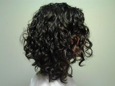 inverted bob long curly hair pictures - Google Search                                                                                                                                                                                 More
