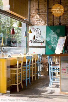 cute restaurant #decor #colors