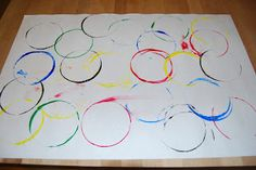 Olympic Poster Inspired Art