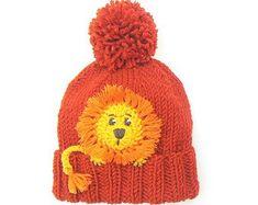 9a85e274b93 Bear hat Kids Winter Hat Beanie Hat Knit Hat Pom Pom Hat