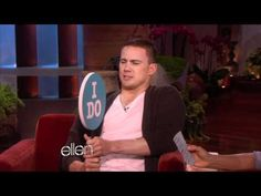 TV BREAKING NEWS Channing Tatum Gets Personal with Ellen - http://tvnews.me/channing-tatum-gets-personal-with-ellen/