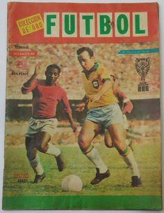 TOSTAO (BRASIL) Portada de Revista Colección de Oro FÚTBOL, Año 8,No. 398, Costo 2 pesos, 17 de Junio 1970