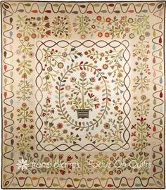 Aunty Green's Garden by Irene Blanck  She's in Australia and her quilts are absolutely beautiful. I hope I get the chance to see a few more of hers.