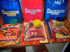 Life Sprinkled With Glitter: Present to Big Brother/Big Sister: From New Baby (#2)